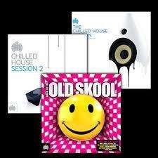 Ministry of Sound Mis-Price - Chilled House Sessions 1& 2 + Back to Old Skool - £15 (pos £14.25) + 7%quidco