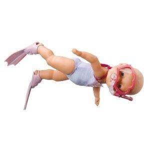 Amazon - Baby Born Mummy I can Swim Doll £8.99 del