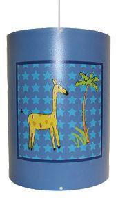 Kids Safari Blue Lamp Shade @ B & Q   £1.00