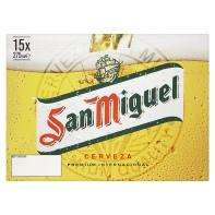 San Miguel 15 x 275 rolled back to £8 @ ASDA