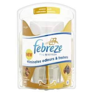 Febreze Sandalwood Air Freshener Plug In Starter Kit (Actual plug in and 1 refill) £2.89 Delivered @ Amazon