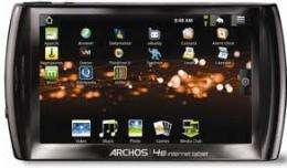 Archos 48 500GB Media Player / Internet Tablet with free DVR dock £179.99 at eBuyer