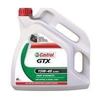 Castrol GTX 10W/40 & 15W/40 - 4 Litres - £10 *Instore* @ Asda