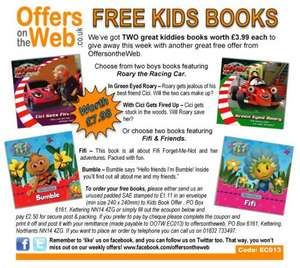 Kids books (£2.50 p&p) @ OffersOnTheWeb