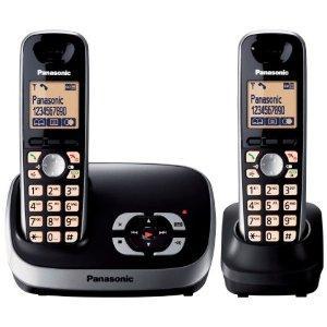 Panasonic KX-TG6522EB DECT Twin Digital Cordless Phone Set with Answer Machine - Black £40.39 @ Amazon