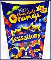 Terrys Segsations or Toblerone Minis 330g £2.24 at Sainsburys