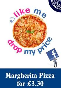 Margherita Pizza £3.30 - Eat In at Pizza Express