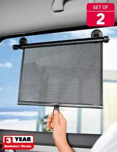 Sun Protection Blinds - Set of 2  £3.99 @ Lidl