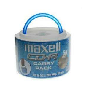 Maxell Blank CD-R 52x 50 Discs / Carry Pack £5.00 Delivered @ Play.com