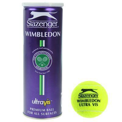 Slazenger Wimbledon Ultra Vis Hydroguard Tennis Balls(x3) @ Sports Direct