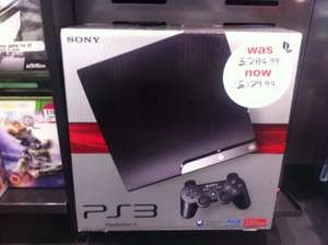 PlayStation 3 (PS3) 250GB Console - HMV Instore £179.99.
