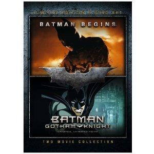 Batman Begins/Batman - Gotham Knight [3 DVD Boxset] £2.07 + Free Delivery @ Amazon