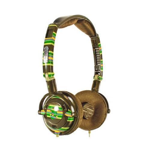 Skullcandy Lowrider Headphones / Brown Stripe further price cut. £11.99 @ Play.com
