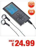 "8GB MP4 player + FM radio, 1.8"" LCD display : £24.99 @ Netto in store only"