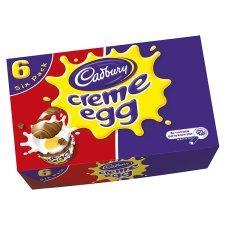 REDUCED MORE!! Cadburys Creme Eggs, box of 6, 35p @ Tesco Instore, GET THEM QUICK!