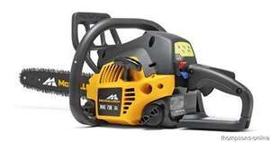 McCulloch MAC 738 38cc Petrol Chainsaw now £99.99 @ Argos 1/3 off