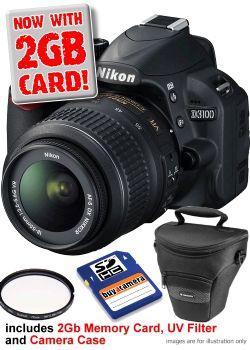nikon dslr d3100 from buy a camera £419.99 + accesories @ Buyacamera + £40 nikon cashback
