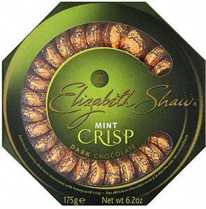 Elizabeth Shaw Mint Crisp Dark Chocolate (175g) £3.50 for 2 boxes @ Tesco