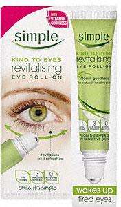 Simple Kind to eyes roll on 15ml @ Savers £2.99