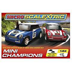 Micro Scaletrix mini champions Car Racing Set save 70% at sainsburys £23.99