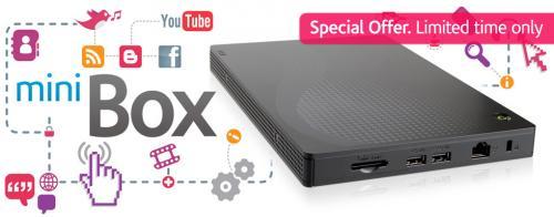 "Novatech ""minibox"" from £159.98 1.6ghz 2gb DDR2 250gb hdd @ novatech"