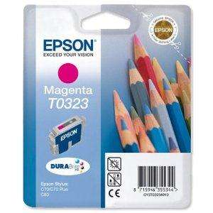 Epson Inkjet Cartridge Page Life 420pp Magenta Ref T032340 £1.78 delivered @ Amazon