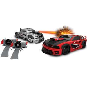 Battle Machines Radio Control Laser Combat Tag [Chevy Silverado and the Ford Mustang] - half price - £29.99 @ The Toy Shop (Entertainer)