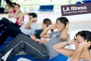 Ten Individual Day Passes for £15 at LA Fitness (£150 Value) @ Groupon