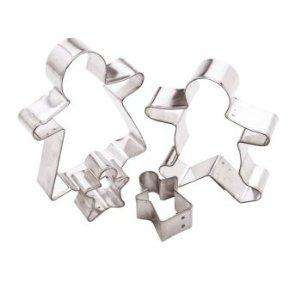 Kitchen Craft Let's Make Metal Gingerbread Family Cutters, Set of Four - £1.50 delivered at Amazon
