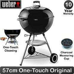 Weber Charcoal Barbecue Kettle 57cm £98 Delivered
