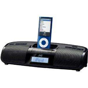 JVC RAP1B iPod And iPhone Dock Speaker With Clock Radio  £38.93  @ Amazon