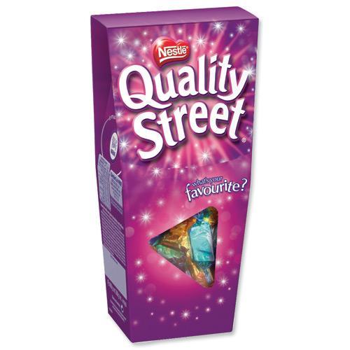 Quality Street & Heroes Choccies 400g £1.99 @ Home bargains