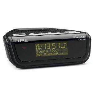 PURE Siesta iDock, DAB/FM Clock Radio with Dock for iPod/iPhone for £32.99 + £3.99 p&p from IWOOT via Amazon
