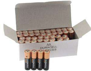 Duracell PLUS High Power Alkaline ~ AA Box of 40 - LIMITED SPECIAL  now only £11.99 @ 7dayshop