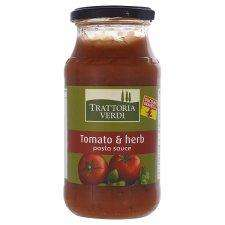 Trattoria verdi tomato and herb pasta sauce 20p  500g jar at Tesco
