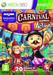 Carnival Games: In Action - Xbox 360 Kinect - £14.99 at Gameplay