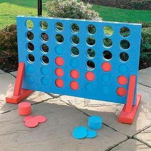 Giant Foam 4-In-A-Row - Great Garden Game - £11.95 Delivered @ Dealtastic *Using Code*