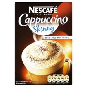 Nescafe Cappuccino, Latte, Mocha etc all £1 each @ Asda