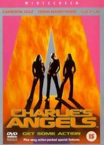 """Only £1.50. """"Charlies Angels"""". Get  Some Action  DVD. @ Tesco Outlet. Free Delivery."""