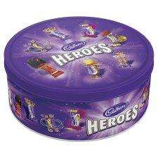 Cadbury Heroes Tin 950G - £6 @ Tesco