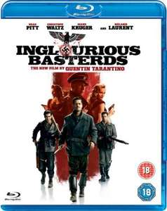Inglourious Basterds Blu-ray £6.95 delivered @ Zavvi