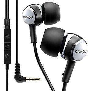 Denon AH-C260R In-Ear Headphones (ideal for iPods, iPods, iPhones, Smartphones etc with built in mic and in-line remote) - £22.95 instore and online @ John Lewis (£37 + elsewhere)