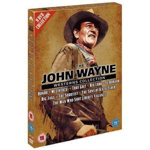 The John Wayne Westerns Collection (9 Disc DVD Boxset) only £6.99 delivered @ Bee