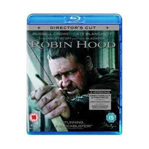 Robin Hood: Extended Director's Cut (2010) (2 Discs) (Blu-ray) - £7.45 Delivered @ Zavvi