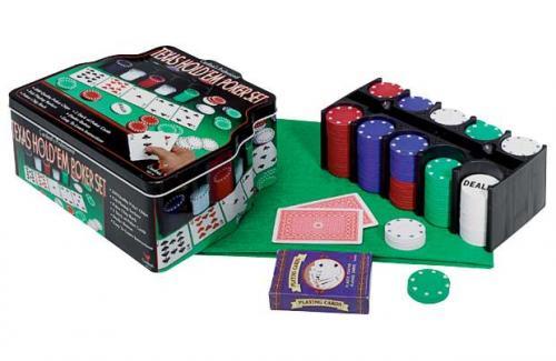 Texas Hold 'Em Poker Set Half Price £7.49@Argos