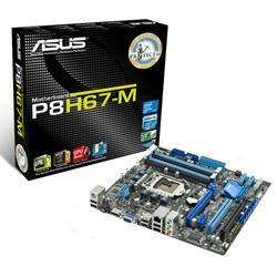 ASUS P8H67-M Intel H67 (Socket 1155) Micro ATX Motherboard  - £64.54 @ Eclipse Computers