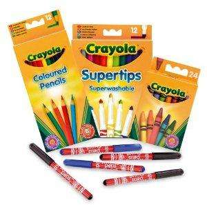Crayola Starter Stationery Set now £4.31 delivered at Amazon
