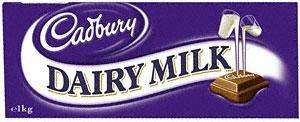 Cadbury Dairy Milk Chocolate Fairtrade (1Kg) £6 at Tesco