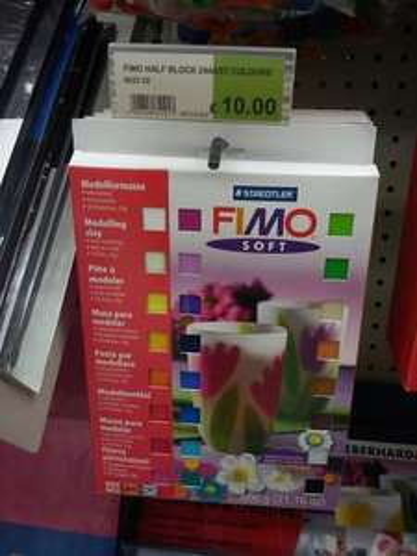 Staples - FIMO Half Block 24 Assorted Colours 600g £10 Missprice