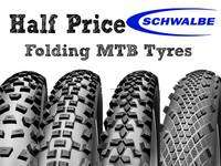 Half price Schwalbe MTB tyres (Nobbly Nics £19.99 57% off) @ On-One Bikes